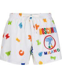 Moschino - ロゴ ショートパンツ - Lyst
