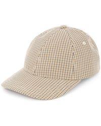 A.P.C. - Patterned Baseball Cap - Lyst