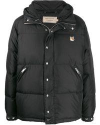 Maison Kitsuné ダウンジャケット - ブラック