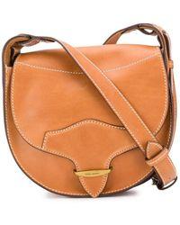 Isabel Marant Crossbody Leather Satchel - Multicolour
