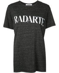 Rodarte - Camiseta con estampado Radarte - Lyst