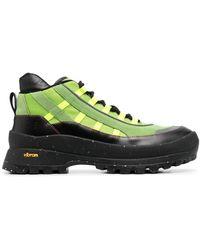 McQ Ботинки Хайкеры Al-4 Hiking - Зеленый