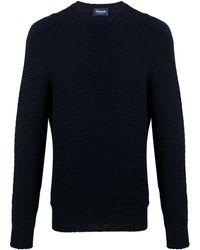 Drumohr ロングスリーブ セーター - ブルー