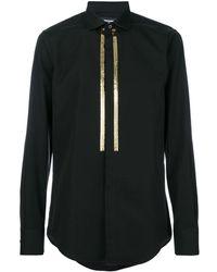 DSquared² Sequin Embellished Shirt - Black