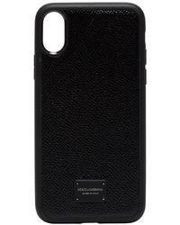 Dolce & Gabbana Iphone Xs Css Case - Black