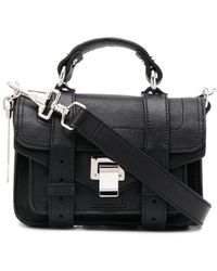 Proenza Schouler Ps1 Micro Lux Tas - Zwart
