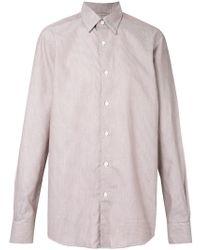 Ermenegildo Zegna - Printed Shirt - Lyst