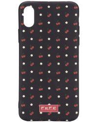 Fefe - Cherry Print Iphone X Case - Lyst