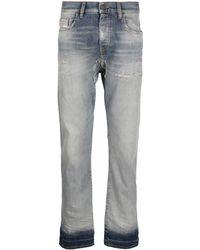 DIESEL Jeans dritti D-Viker - Grigio