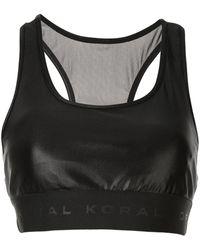 Koral Infinity スポーツブラ - ブラック