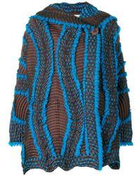 Issey Miyake - Wave Textured Jacket - Lyst