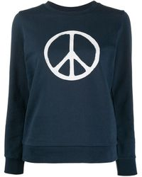 A.P.C. X Rth Peace Sign Jumper - Blue