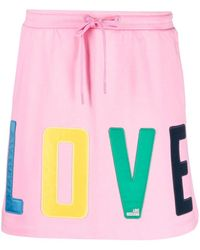 Love Moschino Love イージースカート - ピンク