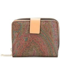 Etro - Paisley Printed Zip Purse - Lyst