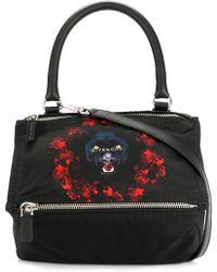 Givenchy - Small Jaguar Print Pandora Tote - Lyst