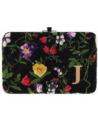 Judith Leiber - Morning Glory Slim Slide Customizable Monogram Bag - Lyst