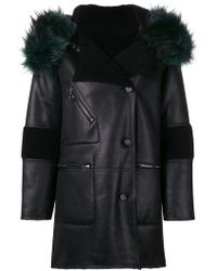 Urbancode - Hooded Straight Fit Coat - Lyst