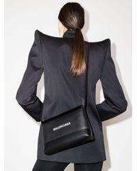 Balenciaga Umhängetasche mit Reißverschluss - Schwarz