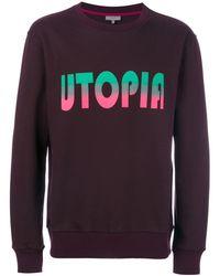 Lanvin - Utopia Print Sweatshirt - Lyst