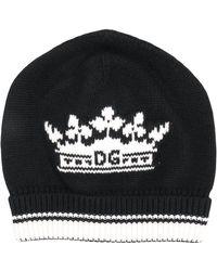 Dolce & Gabbana Bonnet en cachemire - Noir
