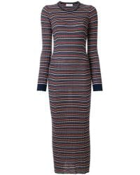 Pringle of Scotland - Slim-fit Striped Jumper Dress - Lyst