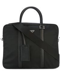 Prada Nylon Briefcase - Zwart