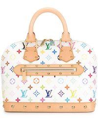 Louis Vuitton Borsa tote Alma Pre-owned - Multicolore