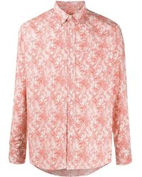 Missoni Рубашка С Абстрактным Принтом - Белый
