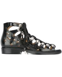Toga Pulla - 'polido Cutout' Sandals - Lyst