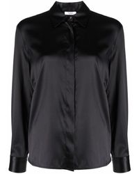 Peserico サテン シャツ - ブラック