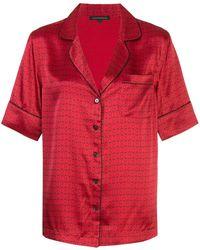 Kiki de Montparnasse Pyjamaset Met Print - Rood
