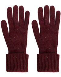 N.Peal Cashmere - Ribbed Knit Gloves - Lyst