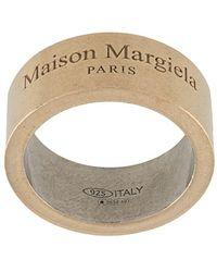 Maison Margiela Браслет-кафф С Гравировкой - Металлик