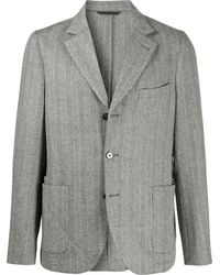 Officine Generale テーラード シングルジャケット - グレー