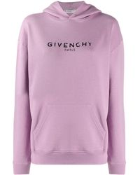 Givenchy プリント ロゴ パーカー - ピンク