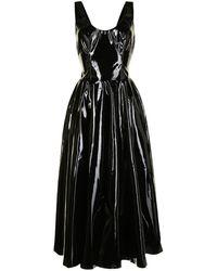 Isabel Sanchis Klassisches Kleid - Schwarz