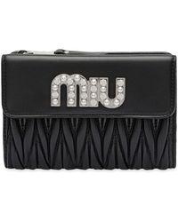 Miu Miu - ファスナー財布 - Lyst