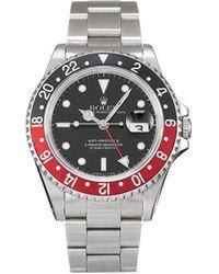 Rolex Наручные Часы Gmt-master Ii Pre-owned 40 Мм 1993-го Года - Черный