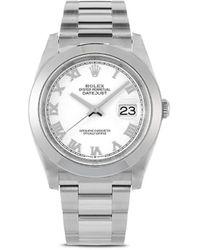 Rolex Orologio Datejust 2020 mai indossato - Bianco