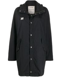 Zadig & Voltaire Kaze Single-breasted Raincoat - Black