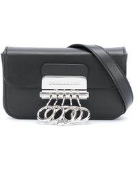 DSquared² Ring Detail Belt Bag - Black
