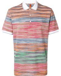 Missoni Striped Polo Shirt - Green