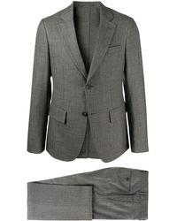 Ferragamo シングル テーラードスーツ - グレー