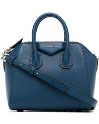 Givenchy - Blue Antigona Mini Leather Tote - Lyst c8d46ca6baf2e