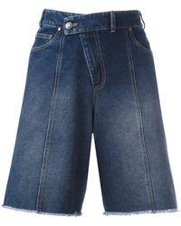 A.F.Vandevorst - 'pukklepop' Denim Shorts - Lyst