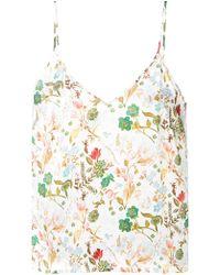 Tonello - Floral Print Vest Top - Lyst