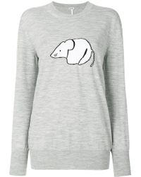 Loewe - Oversized Mouse Sweater - Lyst