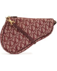 Dior Сумка Saddle Pre-owned С Узором Trotter - Красный