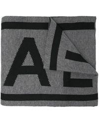 Michael Kors Logo Knitted Scarf - Gray