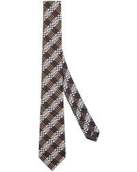 Fendi - Geometric Patterned Tie - Lyst